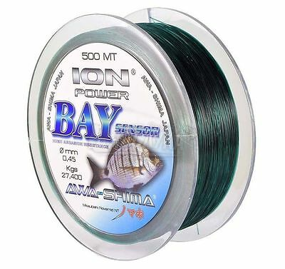 AWA-SHIMA ION POWER S-MISSILE FLUO 600mt 0.23 fishing line monofilament AWA`S