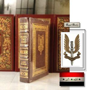 BRAVO TWO ZERO - Easton Press - McNAB - Military History SEALED wBOX SAS IRAQ