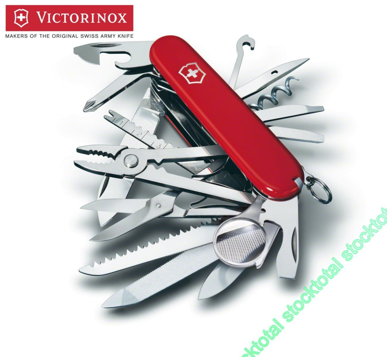 Swiss knife victorinox swiss army champ 33 functions  1.6975 pg  big discount prices