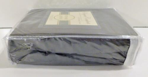 Elegant Comfort Queen Size Fitted Sheet ~ 1500 Thread Count ~ Gray