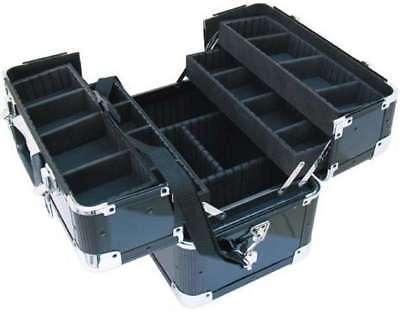 Musikinstrumente Fächerkoffer Am-1 Alukoffer Beautycase Fächercase 38 X 24 X 31 Cm Von Roadinger