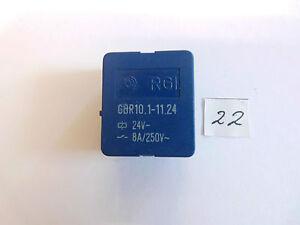 Relais-GBR-10-1-11-24-24-V-8-A-250-V-AC-1x-um-liegend-Relay