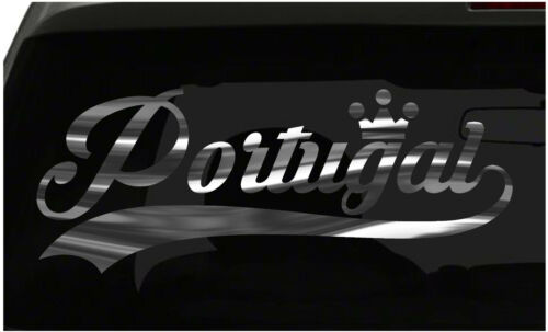Portugal sticker Country Pride Sticker all chrome and regular colors choices