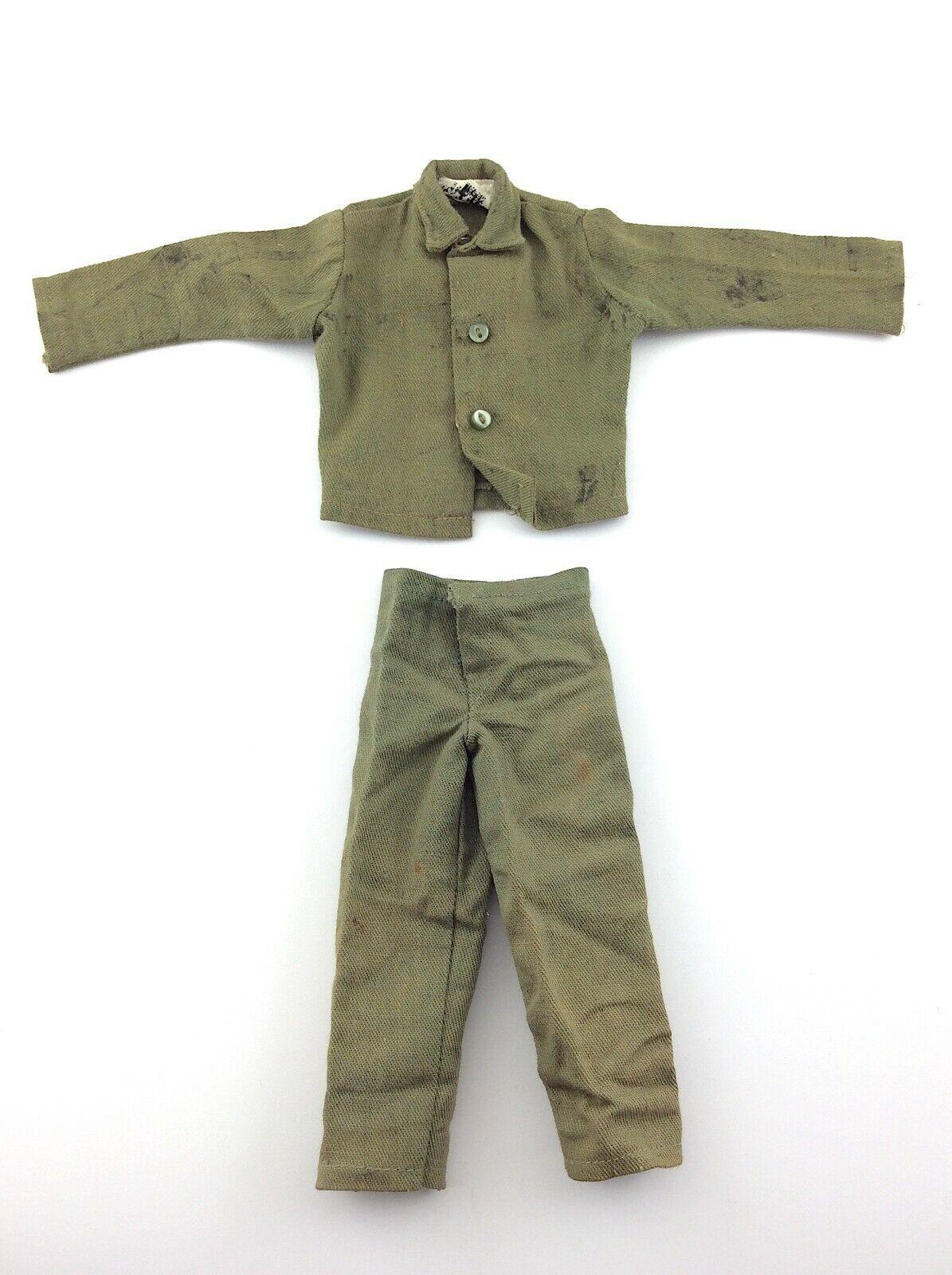 Jahr GI Joe Khaki Fatigues Uniform Wirkung Soldier Hasbro Spielzeug Accessory L619