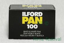 10 rolls ILFORD PAN 100 B&W Film 35mm 36exp 135-36