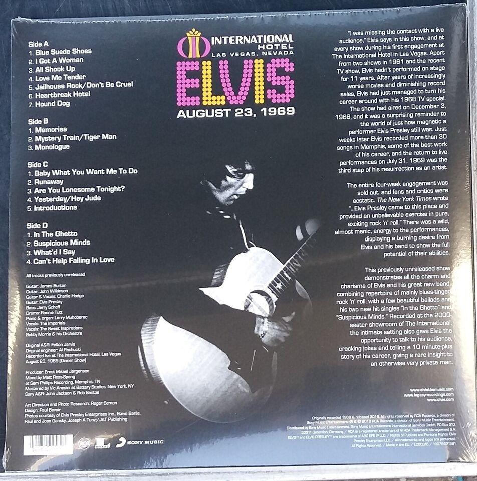 LP, Elvis Presley