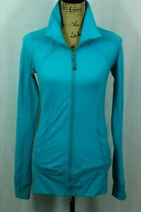Lululemon-6-FORME-Jacket-Full-Zip-Fitted-Activewear-Mock-Neck-Zip-Pockets-Define