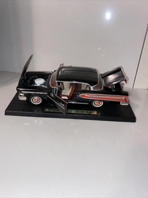 Road Legends 1958 Edsel Citation Black With Red Int, 1:18 Scale Die cast Model