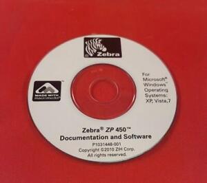 Details about Zebra ZP450 Thermal Label Printer Windows Driver Disk  105683-002