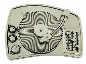TURNTABLE-DISCO-DJ-BELT-BUCKLE-MUSIC-LOVERS-MEN-WOMEN-Rock-Rebel-Gothic-Tattoo
