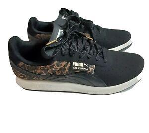 Puma Size 8 Old School leopard black