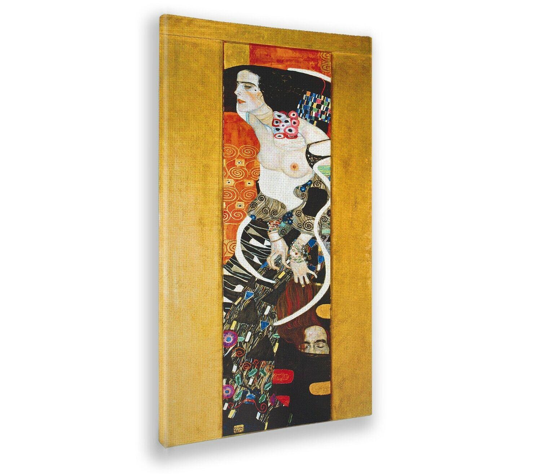 Quadro - Gustav Klimt - Giuditta 2 - Impresión de bellas artes - Listo para colg