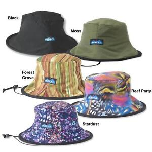 340b48ed79c Image is loading KAVU-Fishermans-Chillba-Hat -Drawcord-Chinstrap-Collapsible-Reversible-