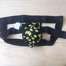 Mens  Candyman Jockstraps Size L Large Black/yellow New
