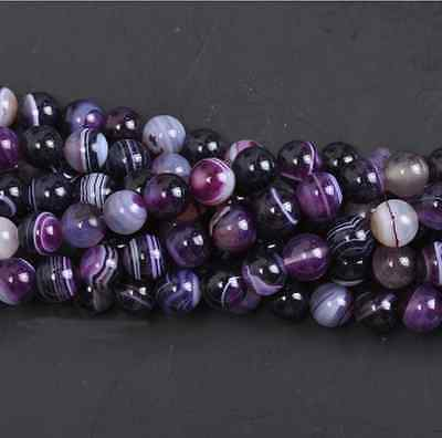 Wholesale 40Pcs 4MM Natural Gemstone Round Spacer Loose Beads Multi color