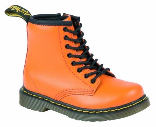 Dr Martens Kids Shoes 8-hole Brooklee Pumpkin Orange 20667804 Original Doc