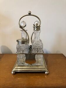 Antique Victorian Cruet Set Ebay