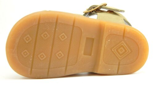Size 3-6.5 DE OSU//FARO F-4525 Baby//Toddler Euro Kahki Nubuck Fisherman Sandals