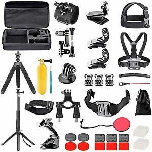 GoPro HERO 8 Black Action Camera Accessories Kit ; Go Pro Hero 7/6/5 (50 in 1)