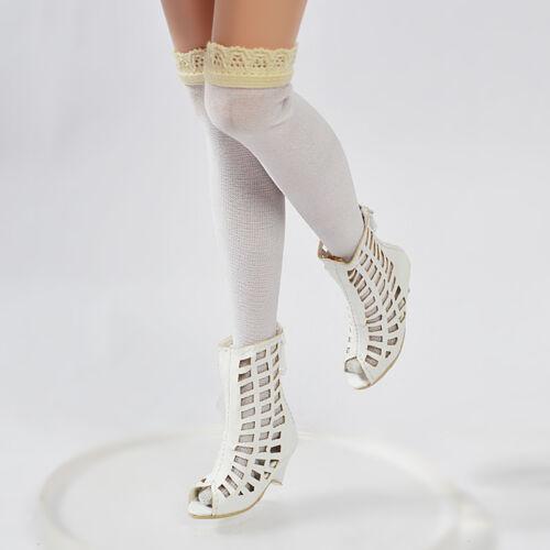 "Flat Ellowyne//Diana//Rose Titanic//Franklin Mint 16/"" Doll Shoes//Boots//Puppenschuhe"