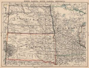 USA PLAINS STATES. North Dakota South Dakota Minnesota. Railroads ...