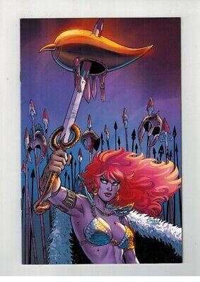 Red Sonja #19 Dawn Mcteigue Color Virgin Exclusive