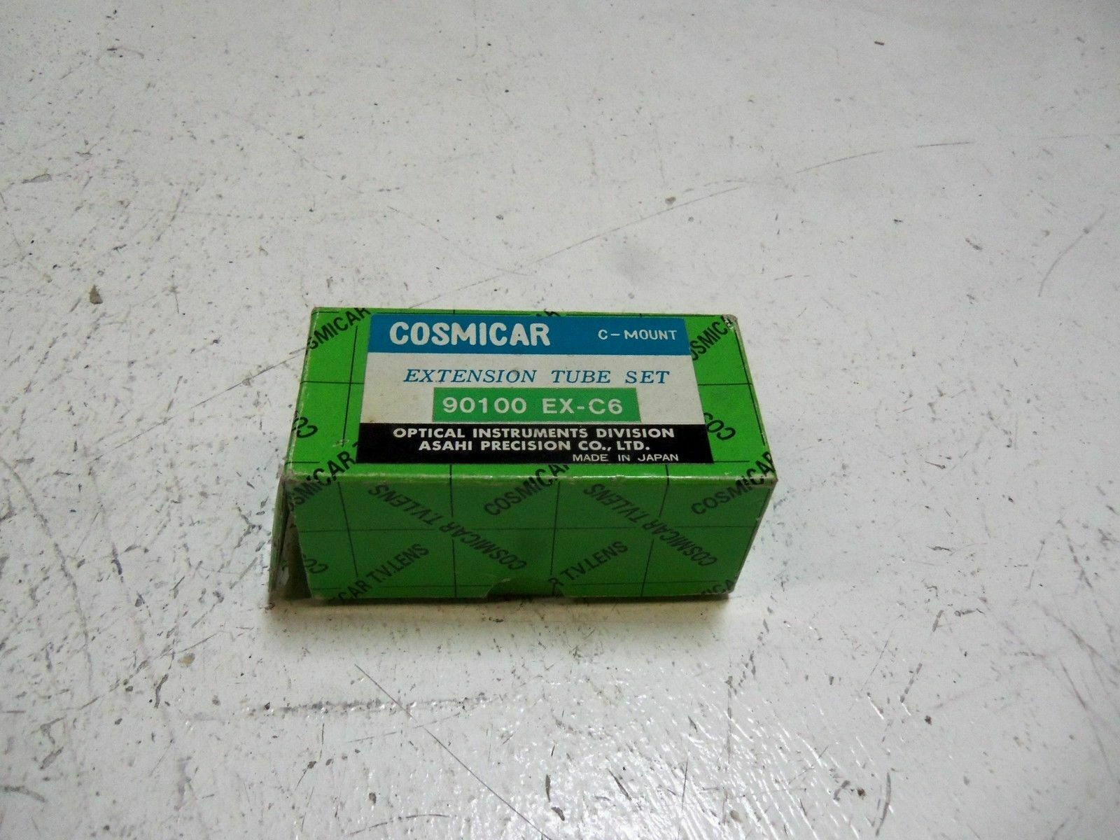 COMISCAR EX-C6 EXTENSION TUBE SET NEW IN BOX