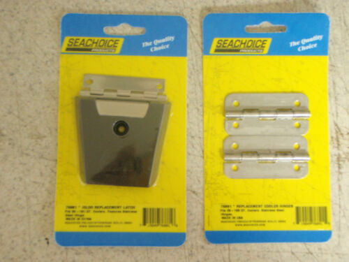 IGLOO COOLER LATCH AND STAINLESS HINGES 76891 X2 76881 X1 50QT TO 165QT COOLERS