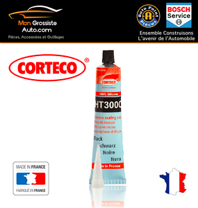 corteco ht300c p te joint silicone noir 300 80ml gamme pro made in france ebay. Black Bedroom Furniture Sets. Home Design Ideas