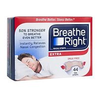 Breathe Right 44ct Extra Strength Nasal Strips Snoring