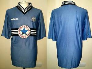 SHIRT-NEWCASTLE-UNITED-VINTAGE-JERSEY-FOOTBALL-1996-97-PREMIER-LEAGUE-ENGLAND