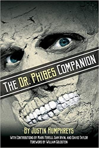 The Morbidly Romantic History of the Class.. New Book Phibes Companion The Dr