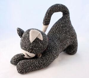 Cat-Plush-Door-Stop-Heavy-1-4kg-Stuffed-Animal-32cm-Stretching-Doorstop-Kitty