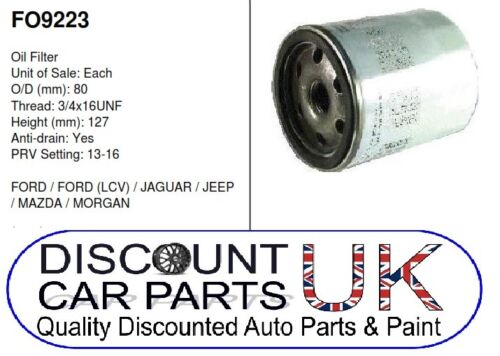 Oil Filter Rover Group 200 Hatchback 2.0 D 220 8v 1994 Diesel 11//95-3//00