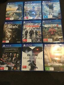 9 Ps4 Games All In Good Condition Ebay