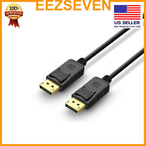 EEZSEVEN-DisplayPort-Cable-High-Speed-DP-to-DP-Cable-1080p-Male-to-Male-Cord