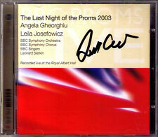 Leonard SLATKIN Signed BBC Last Night of the Proms 2003 GHEORGHIU JOSEFOWICZ CD