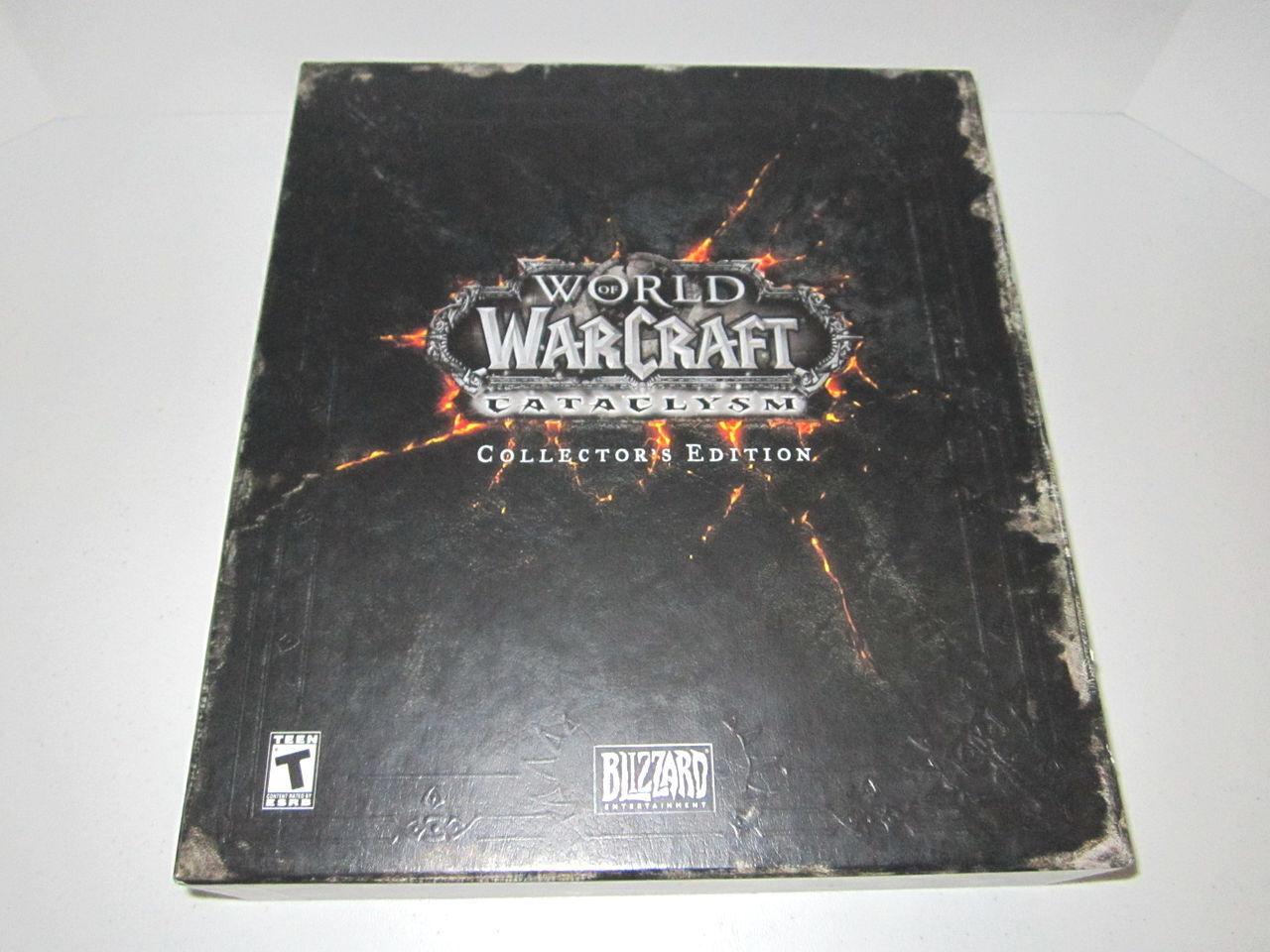 World World World Of Warcraft Katastrophe Collector 'S Edition - Ungeöffnet, Große Zustand 579d17