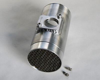 3.0 OD MAF Housing air straightener for Subaru 02-07  WRX STI Toyota Mazda 76mm
