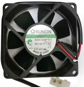 Industrial-Sunon-12V-1-6W-80mm-Brushless-Electrical-Cooling-Cooler-Fan-Powerful