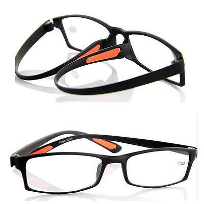 Flexible Reading Glasses TR90 Frame Reader Eyeglass +1.0 1.5 2.0 2.5 3.0 3.5 4.0