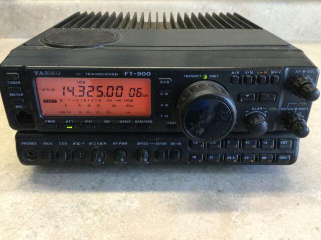 yaesu ft 900 hf ham transceiver 100w ems tracking ebay