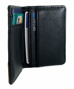 Dual-Tone-Folding-Leather-Credit-Card-Cover-with-Multiple-Card-Slot