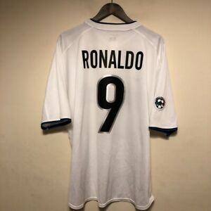 new product 0ff8f 12333 Details about Inter Milan Away Football Shirt Ronaldo #9 Adults XL