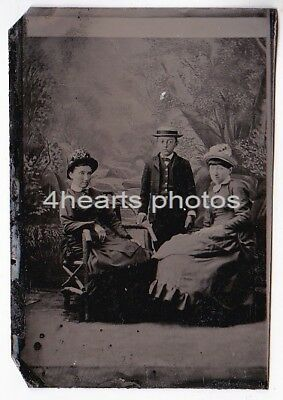 G18-1153 Malinda Strouse Campbell, Sittie Campbell Widney, Sheridan Campbell OH