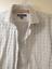 thumbnail 3 - Pronto Uomo Mens White Gray Long Sleeves Collared Button Down Shirts Size Medium