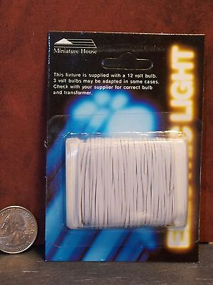Electrical Wire 32 gauge 50/' 2 strand dollhouse #2217