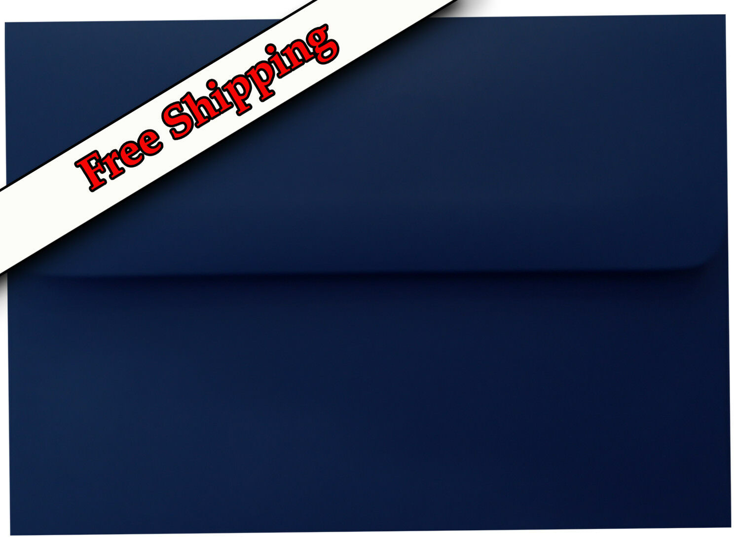 Navy Blau 70lb Straight Flap Envelope for Invitation Announcement Wedding Shower