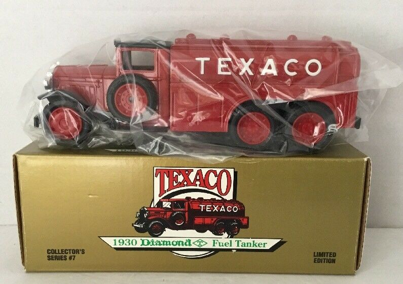 Texaco 1930 Diamond Fuel Tanker Collector's Series NEW in MINT Box