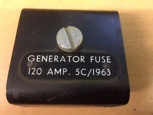 5c 1963 raf aircraft generator fuse box image is loading 5c 1963 raf aircraft generator fuse box